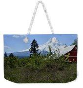The Barn And  Mt. Hood Weekender Tote Bag