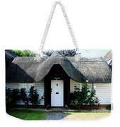 The Barn House Door Nether Wallop Weekender Tote Bag