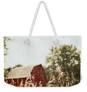 The Barn In The Distance Weekender Tote Bag
