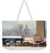 The Barn Yard Weekender Tote Bag