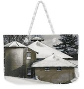 The Barns At Castle Hill After The Snow Weekender Tote Bag