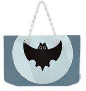 The Bat Cute Portrait Weekender Tote Bag
