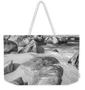 The Baths In Black And White Weekender Tote Bag