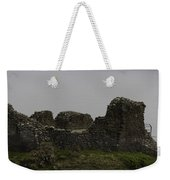 The Battered Remains Of The Urquhart Castle In Scotland Weekender Tote Bag