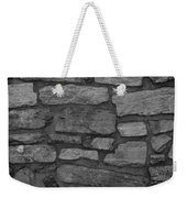 The Battery Wall In Black And White Weekender Tote Bag