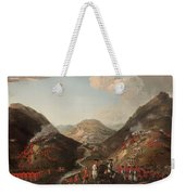 The Battle Of Glen Shiel 1719 Weekender Tote Bag