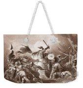 The Battle Of Hastings, Engraved Weekender Tote Bag
