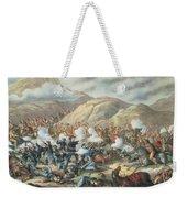 The Battle Of Little Big Horn, June 25th 1876 Weekender Tote Bag
