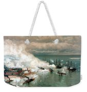The Battle Of Mobile Bay Weekender Tote Bag
