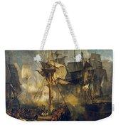 The Battle Of Trafalgar Weekender Tote Bag
