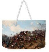 The Battle Of Trevino Weekender Tote Bag