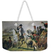 The Battle Of Wagram, 6th July 1809, 1836 Oil On Canvas Weekender Tote Bag