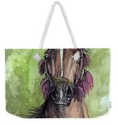 The Bay Arabian Horse 16 Weekender Tote Bag