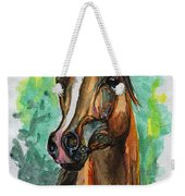 The Bay Arabian Horse 2 Weekender Tote Bag