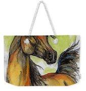 The Bay Arabian Horse 5 Weekender Tote Bag