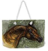 The Bay Arabian Horse Weekender Tote Bag