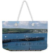 The Bay At Swanage Weekender Tote Bag