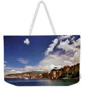 The Bay Of Sorrento Weekender Tote Bag