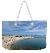 The Beach At Cap D' Antibes Weekender Tote Bag
