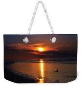 The Beach At Dawn Weekender Tote Bag