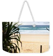 The Beach At Salt Weekender Tote Bag