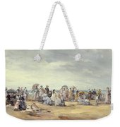 The Beach At Trouville, 1873 Weekender Tote Bag