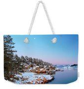 The Beach In December Weekender Tote Bag