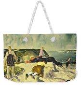 The Beach Newport Weekender Tote Bag by George Wesley Bellows