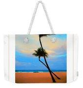 The Beach Poster Weekender Tote Bag
