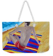 The Beach Towel Weekender Tote Bag