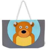 The Bear Cute Portrait Weekender Tote Bag