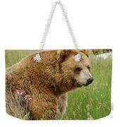 The Bear Dry Brushed Weekender Tote Bag