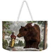 The Bear Woman Weekender Tote Bag