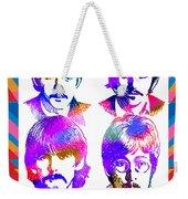 The Beatles Art Weekender Tote Bag