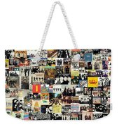 The Beatles Collage Weekender Tote Bag