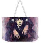 The Beatles John Lennon And Paul Mccartney Weekender Tote Bag