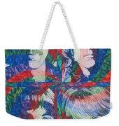 The Beatles Squared Weekender Tote Bag