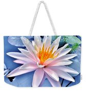 The Beautiful Lily Pond Weekender Tote Bag
