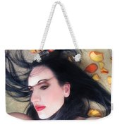 The Beautiful Prisoner - Self Portrait Weekender Tote Bag