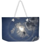 The Beauty Above Weekender Tote Bag