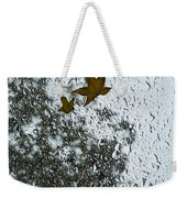 The Beauty Of Autumn Rains - A Vertical View Weekender Tote Bag