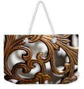 The Beauty Of Brass Scrolls 1 Weekender Tote Bag