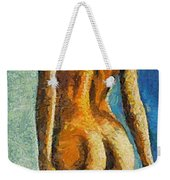 The Beauty Of Female Body Weekender Tote Bag