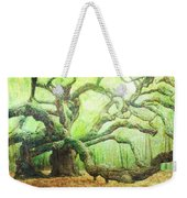 The Beauty Of Old Age Weekender Tote Bag