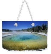 The Beauty Pool Yellowstone Np Wyoming Weekender Tote Bag