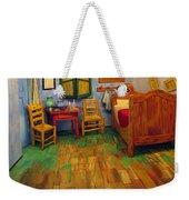 The Bedroom Of Van Gogh At Arles Weekender Tote Bag