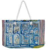 The Bedroom Window Oil & Pastel On Paper Weekender Tote Bag