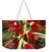 The Bee And Bottlebrush Weekender Tote Bag