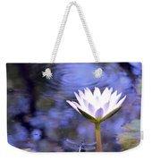 The Bee And The Dragonfly Weekender Tote Bag