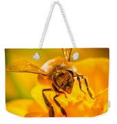 The Bee Gets Its Pollen Weekender Tote Bag